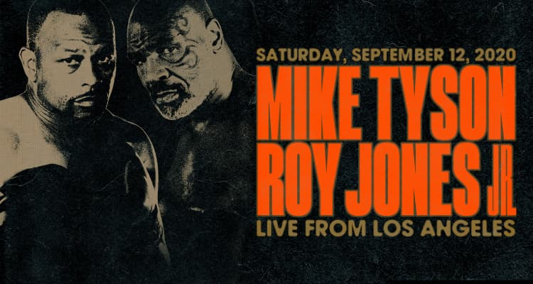 Mike Tyson og Roy Jones