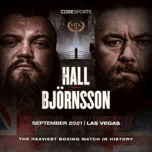 Odds på Eddie Hall vs. Hafthor Bjornsson