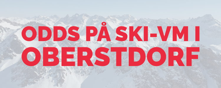 Betting på ski-VM i Oberstdorf 2021